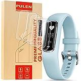 PULEN for Garmin Vivosmart 4 Screen Protector TPU Skin HD Scratch Resistant Anti-Fall Bubble Free Anti-Fingerprints Protectiv