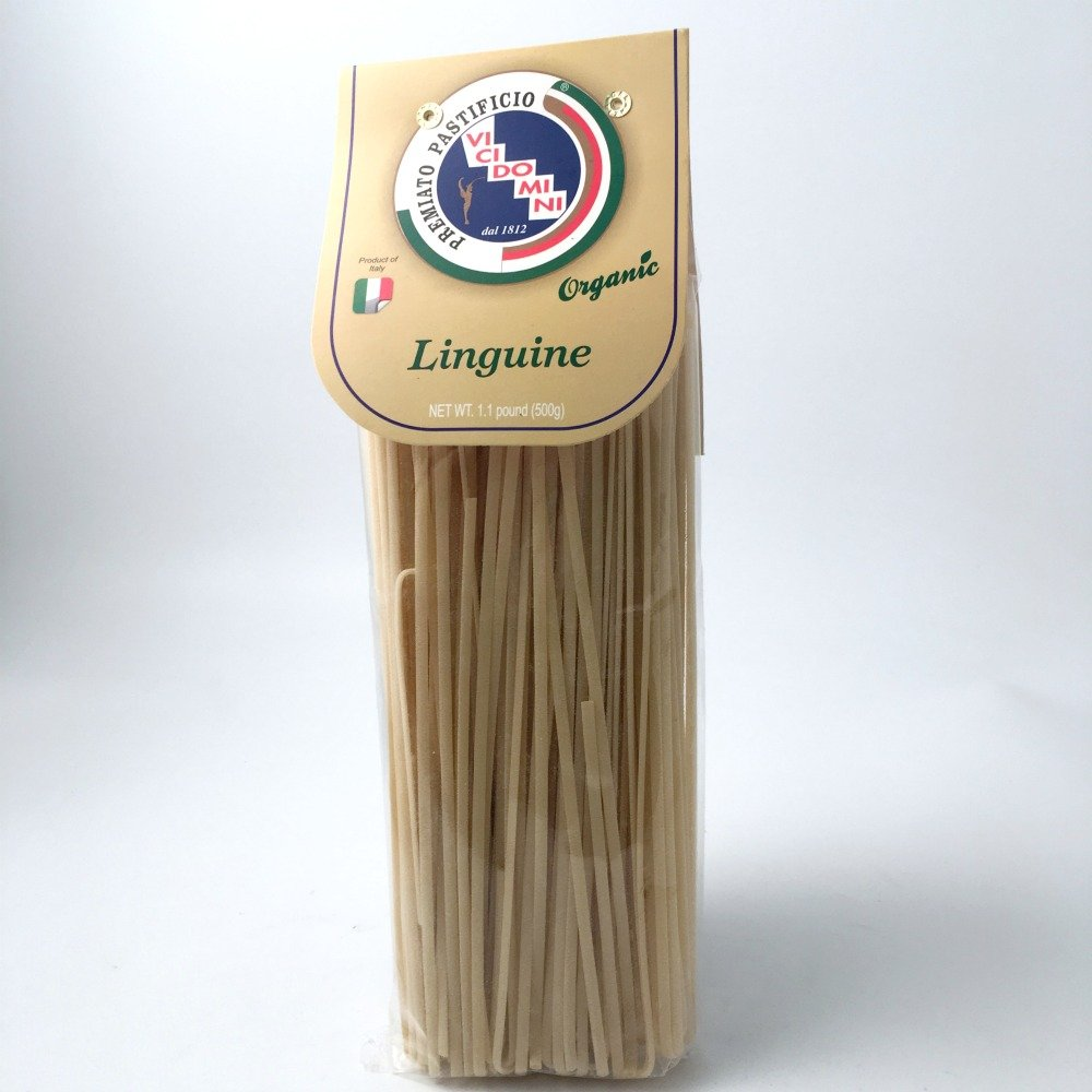 Pastificio Vicidomini Organic Linguine from Campania