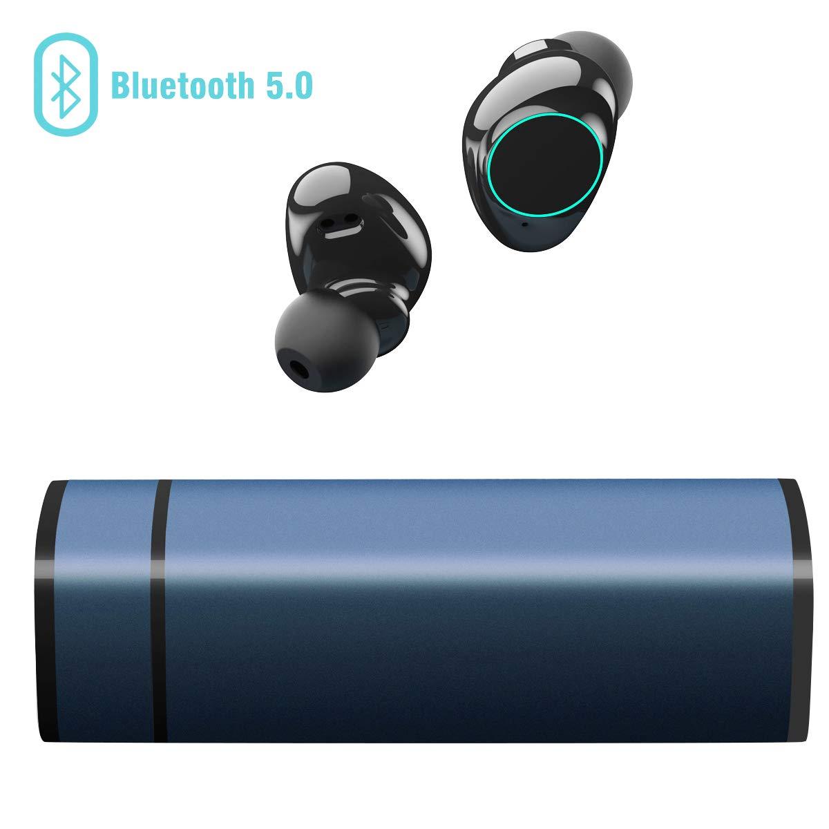 /Écouteurs Bluetooth 5.0 Oreillette Bluetooth sans Fil Muzili Ultra-l/éger Casques d/Écoute Anti-Bruit /Écouteurs Sport IP65 /Écouteurs /Étanche St/ér/éo avec Micro pour iPhone et Android