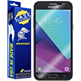 ArmorSuit - Samsung Galaxy J7 (2017) Screen Protector [Case Friendly] MilitaryShield For Samsung Galaxy J7 (2017) Lifetime Replacement Anti-Bubble HD Clear