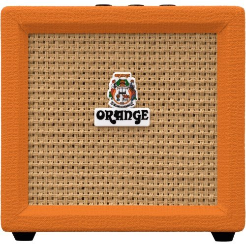 Hybrid Guitar Amps (Orange Amplification Crush Mini 3-Watt Battery Powered Guitar Combo Amplifier)
