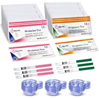 50 Pruebas de Ovulación ultrasensibles (20mlU/ml) y 20