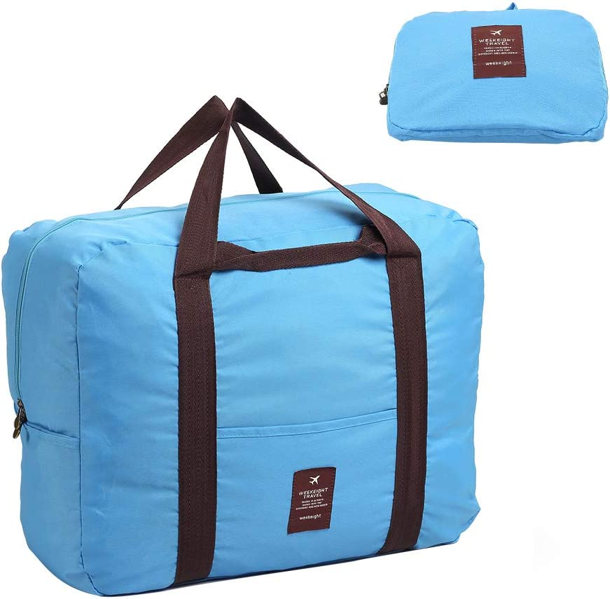 XISXI Polyester Waterproof Material Foldable Travel Storage Duffel Bag for Versatile Uses