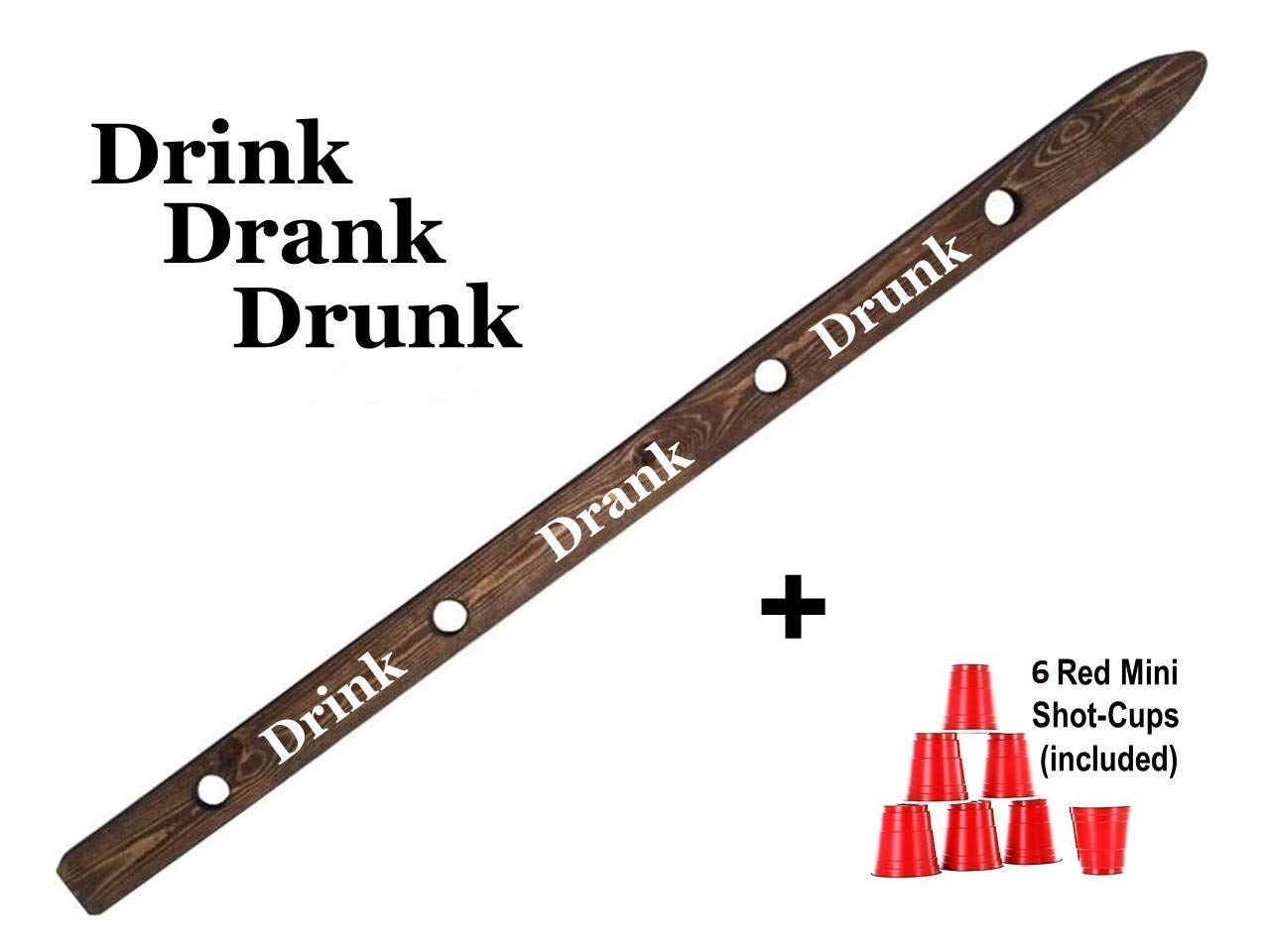 Drink Drank Drunk Shot Board Drinking Game