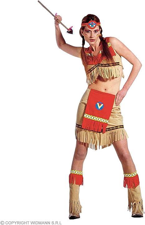 WIDMANN All4Yourparty - Disfraz de indio del salvaje oeste para ...