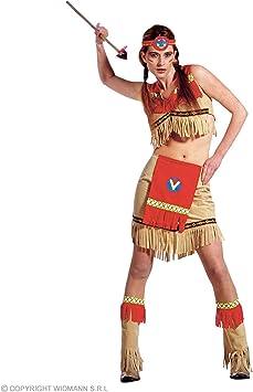 WIDMANN Widman - Disfraz de indio del salvaje oeste para niña ...