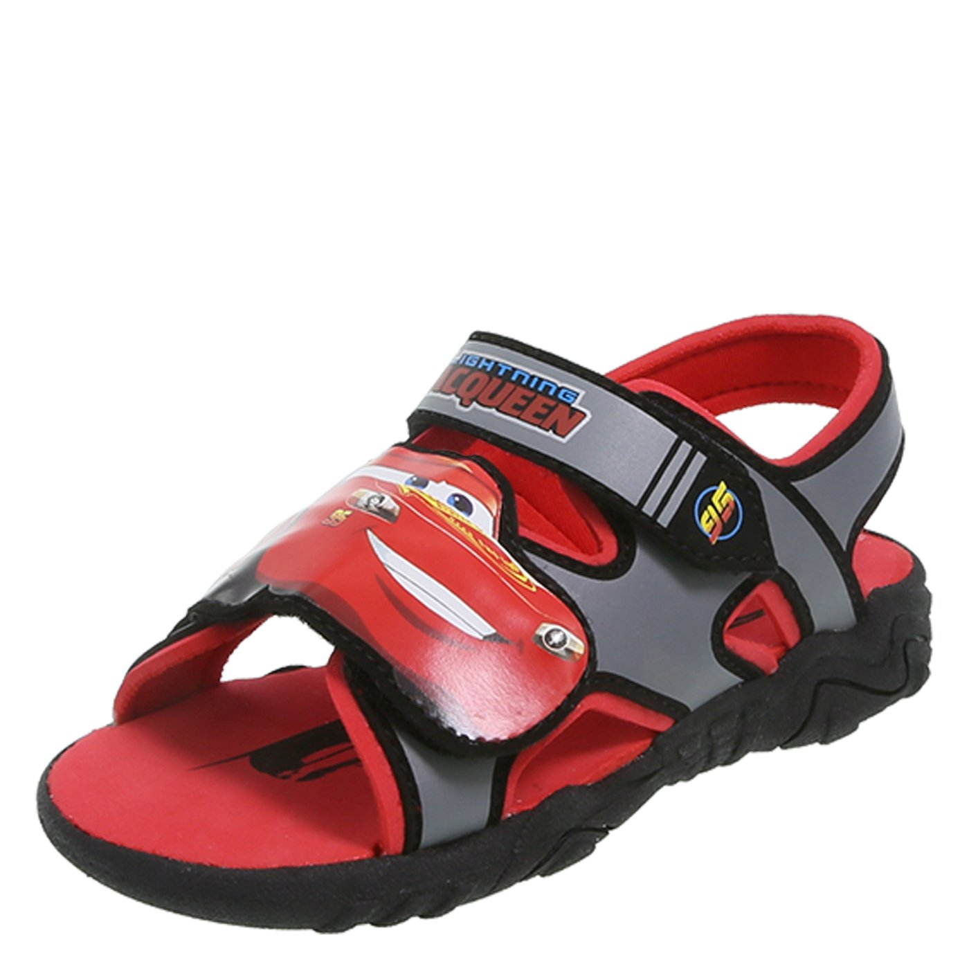 Disney CARS Cars Boys' Toddler Cars Lighted Sport Sandal 079575-Parent