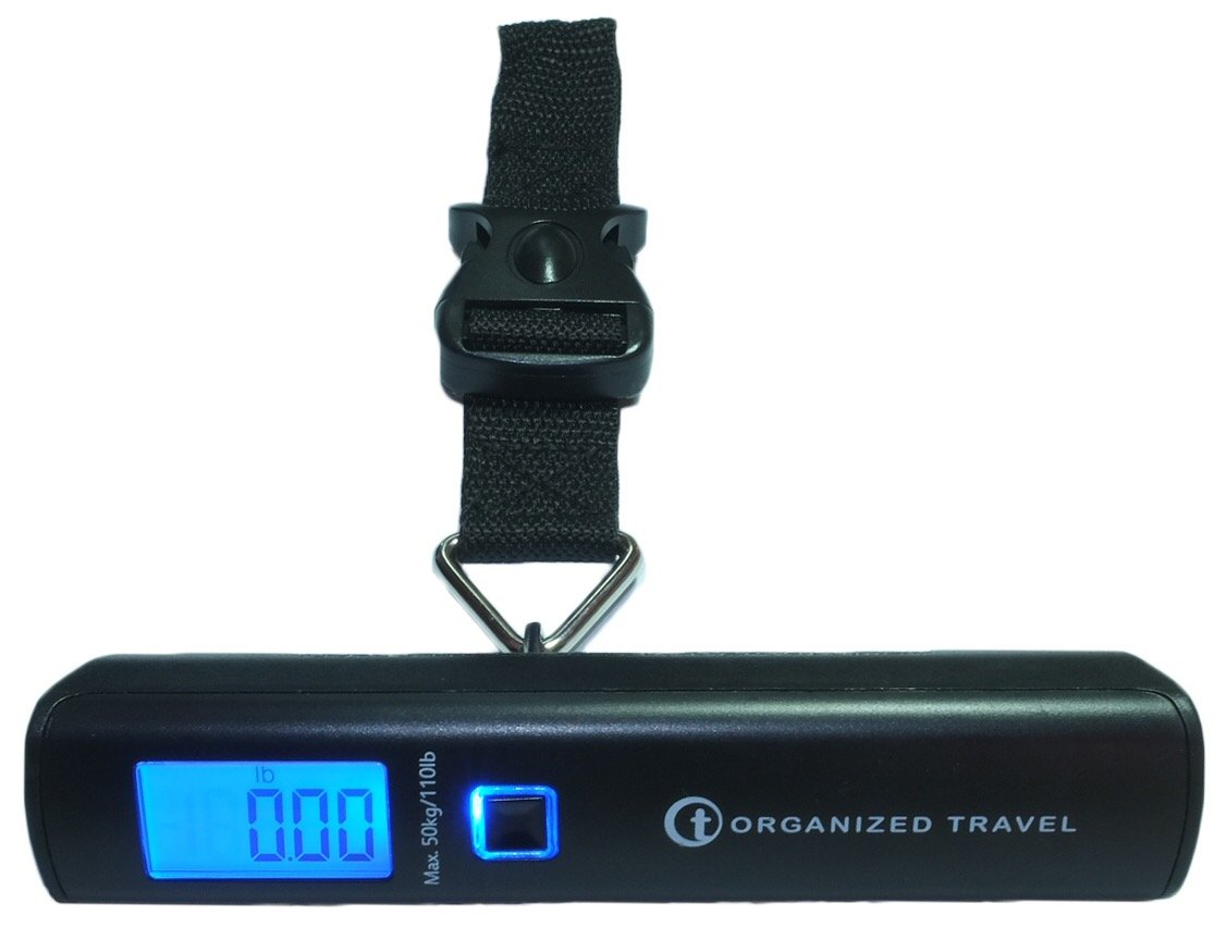 Organized Travel Digital Luggage Scale with Max. Weight 50 Kgs or 110 Lbs, Model LS1452