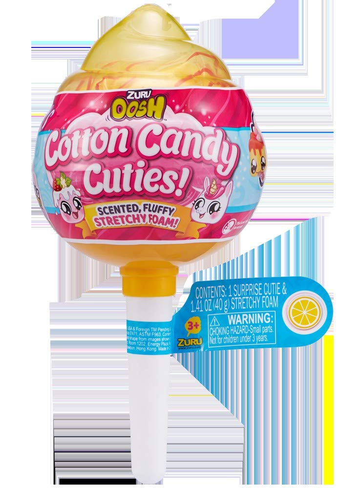 Oosh Slime - Series 1 Cotton Candy Cuties Pop (Yellow)
