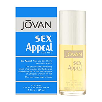 Jovan Cologne Men 3 0 By Sex Coty For Appeal Spray Oz R5A34jL