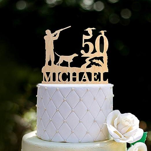 Decoración para tarta de cumpleaños de 50 cumpleaños con ...
