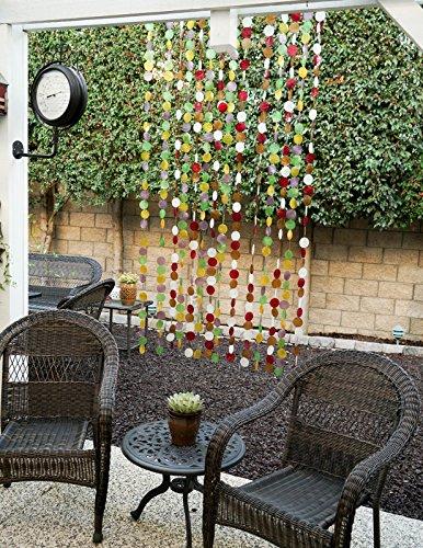 Capiz Shell Curtain - Decorative Capiz Shell Curtain