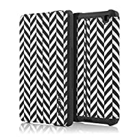 Incipio Standing Folio Pattern Case for Amazon Fire HD 6 (only fits 4th Generation Fire HD 6), Chevron