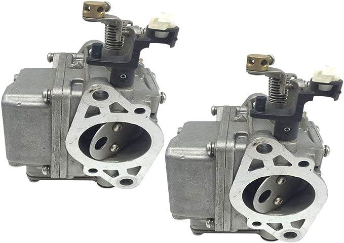 B Baosity 2X Carburador Desbrozadora para Motores Carburador de ...