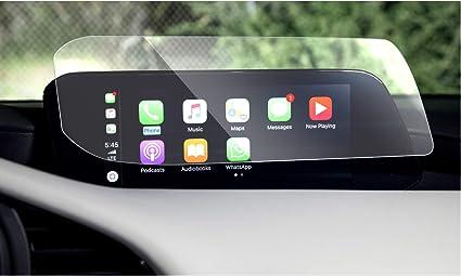 Mazda 3 Zubehör Displayschutzfolie Kompatibel Für Mazda 3 2019 2020 2021 Navigation Touchscreen Abdeckung Für Mazda 3 Mazda 3 8 8 Zoll Elektronik