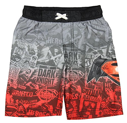 DC Comics Batman V Superman: Dawn of Justice Boys Swim Shorts (6/7) -