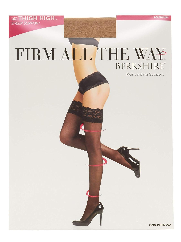 Berkshire Women's Firm All The Way The Thigh High Pantyhose 1376 Berkshire Women' s Hosiery