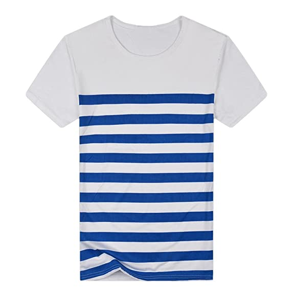 Camisas Rayas Hombre AIMEE7 Camisas De Hombre Manga Corta Camisas De Verano Hombre Camisetas Hombre Manga Corta Camisetas Casual Hombre Camisetas Hombre ...