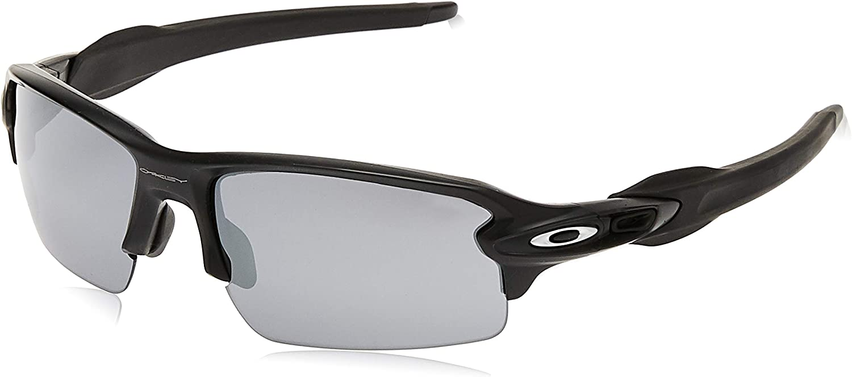 Amazon.com: Oakley Men's OO9295 Flak 2.0 Rectangular Sunglasses, Matte Black/Black Iridium, 59 mm: Clothing
