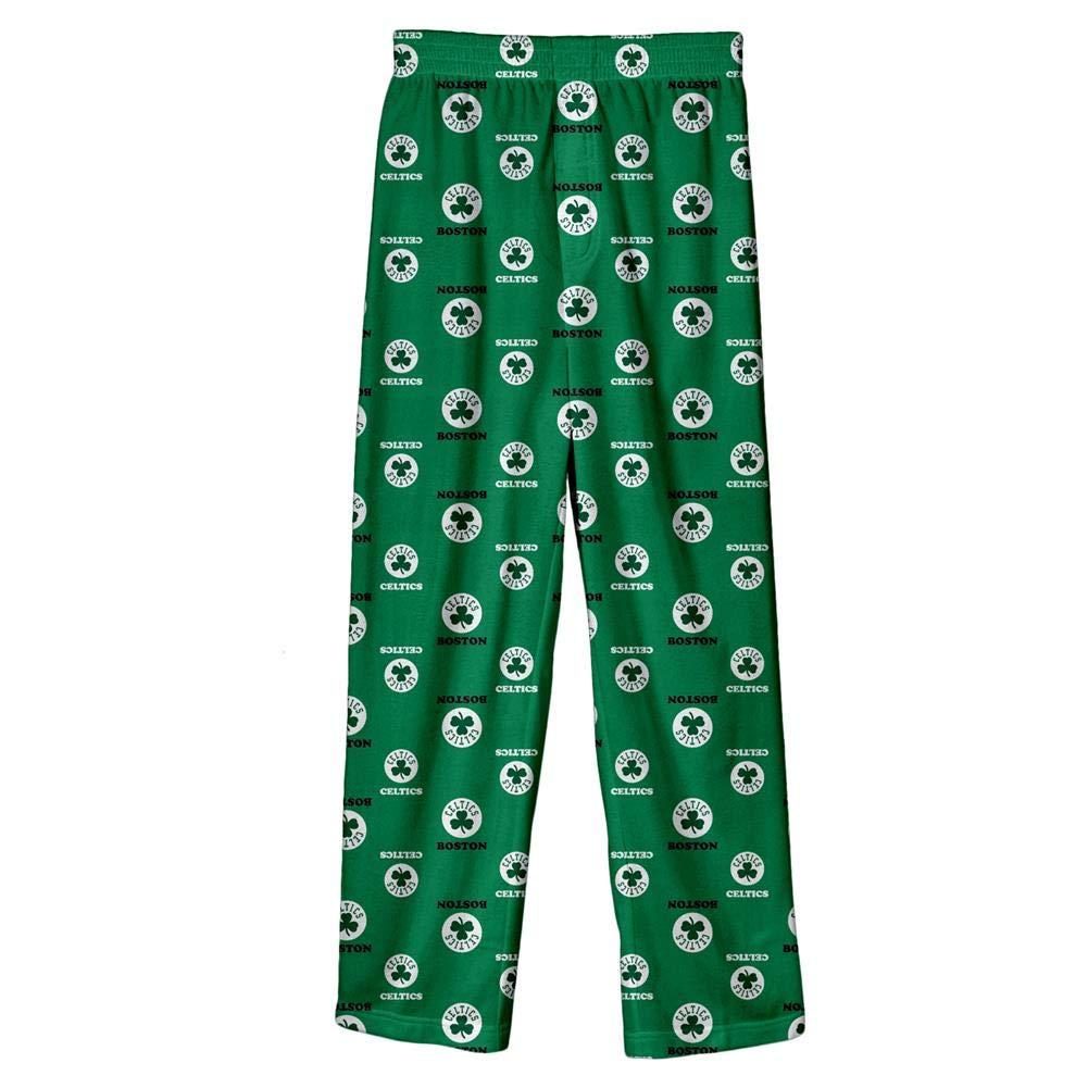 OuterStuff Youth Boston Celtics Pajama Pant Boys Sleep Bottoms