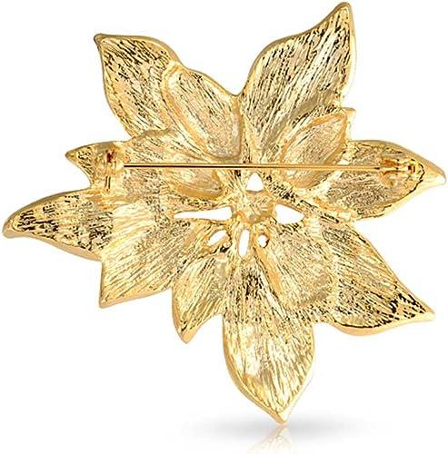 Broche Epingle Laiton Argent en 8 cm Broche D/écorative Pour Femme