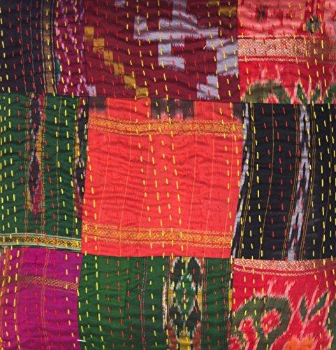 Indian Silk Throw - 3