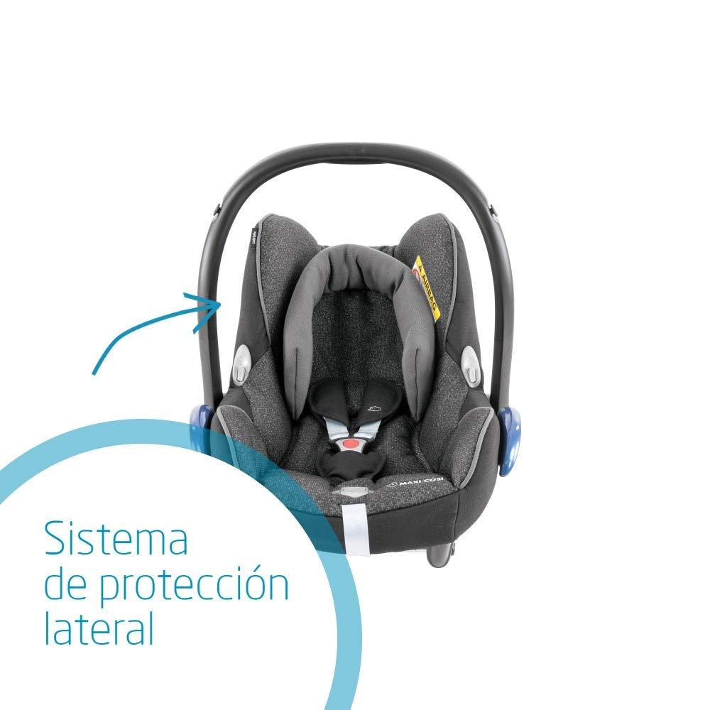 0-12 meses triangle black /color negro 0-13 kg Maxi-Cosi CabrioFix silla de auto reclinable y de alta seguridad para tu bebe