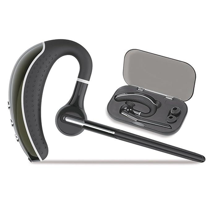 Auricular manos libres Bluetooth inalámbrico con de reducción de ruido, compatible con Apple, Android