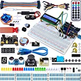 arduino kit starter - Miuzei UNO R3 Starter Kit for Arduino Projects including Breadboard Holder, LCD 1602, Servo, Sensors and Detailed Tutorials MA05