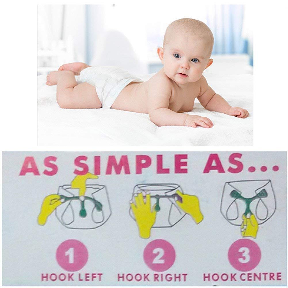 Ersatznadeln ersetzt Windelnadeln Amatt Stoffwindelverschl/üsse Mutterschaftsverwendung mit Tuch vorgefaltet und flach