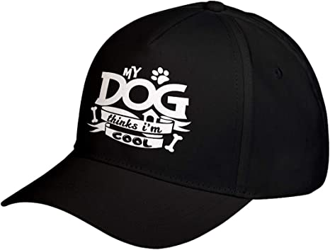 Cat COMBINED SHIPPING My Dog Thinks I/'m Cool Horse LOTS of color choices Fish Bird Unisex Adjustable Hats low profile