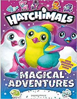 Hatchimals Coloring Book For Kids And Teens Alan Foster