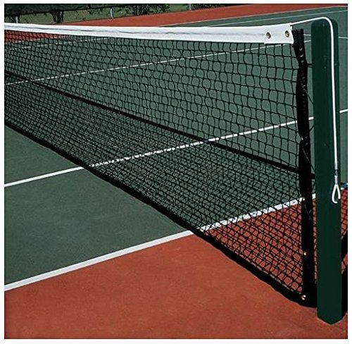 Country Club Pro Tennis Net in Black by Jaypro Sports