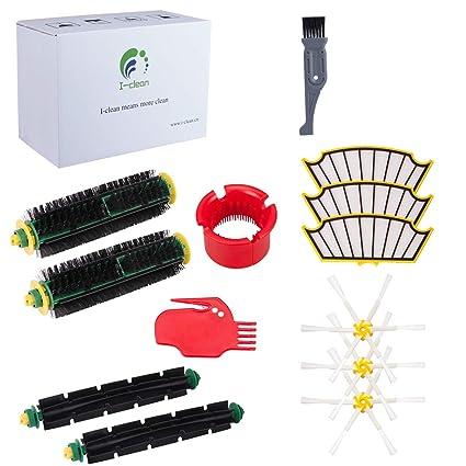I clean Replenishment Roomba 500 Series Kits, Compatibel with iRobot Roomba  560, 510, 530,595, 535, 540, 580, 610 Vacuum Cleaner Parts