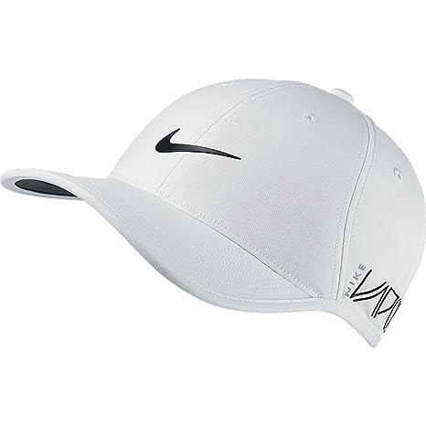 578590f8092 2015 Nike Dri-Fit Ultralight Tour Adjustable Mens Golf Cap-New VAPOR RZN  Logo White