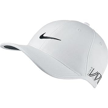 2015 Nike Dri-Fit Ultralight Tour Adjustable Mens Golf Cap-New VAPOR RZN  Logo White 126c25b6bc9