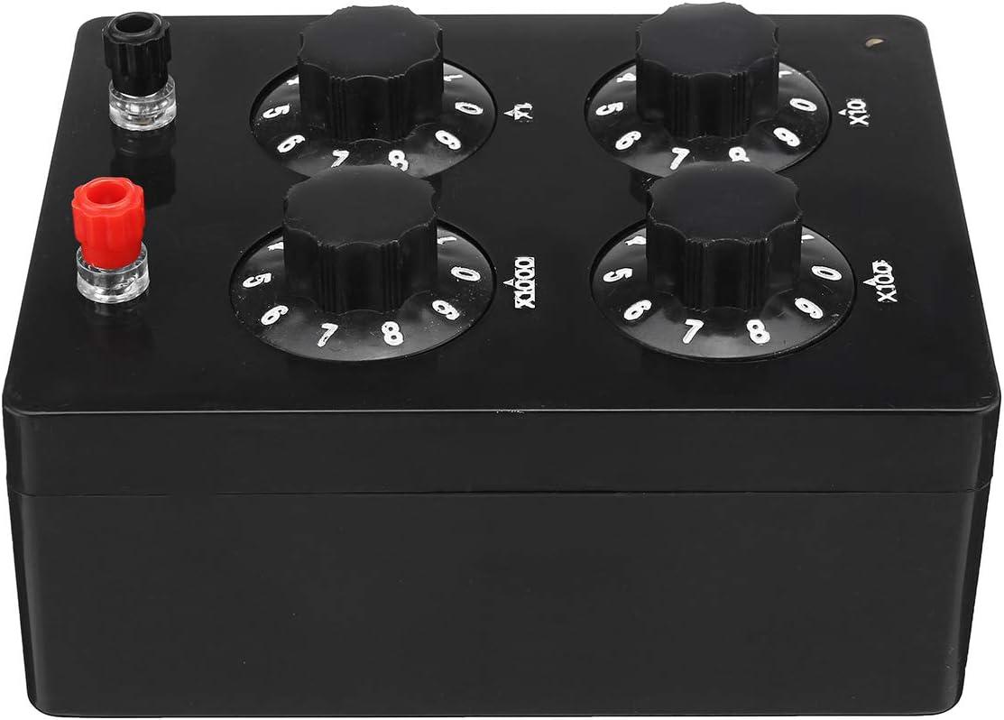 Precision variable décennie Résistance Résistance J2362 Box 0-9999 Ohm Instrument