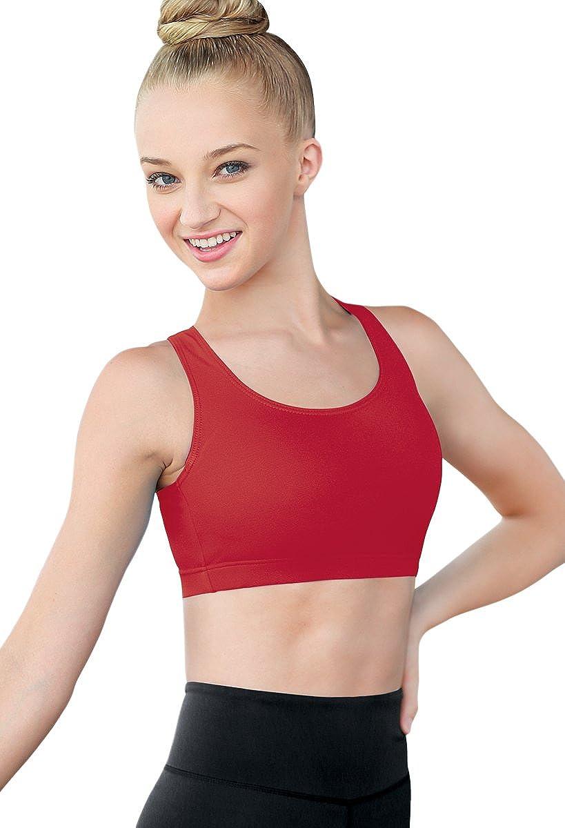 d777437491 Amazon.com  Balera Racerback Bra Girls for Dance Top High Support  Clothing