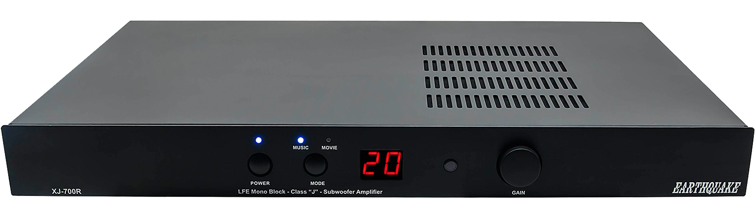 Earthquake Sound XJ700R Monoblock Class ''J'' Amplifier by Earthquake Sound