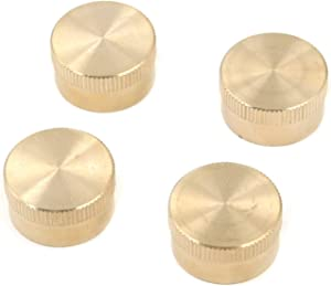 FarBoat 4Pcs Universal Refill Propane Bottle Cap Brass Solid Sealed Cap for All 1lb Gas Tank Cylinder