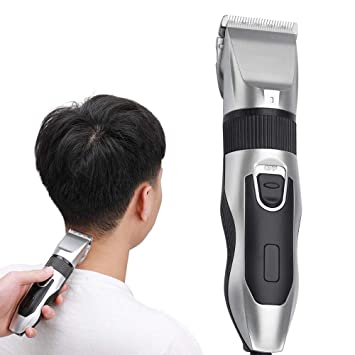Amazon Com Mens Hair Clippers Anstop Professional Hair Trimmer Hair Clippers Cordless Haircut Machine Barber Shavers Rechargeable Hair Cutting Tools Silver Beauty