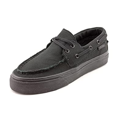 873be216bdf6 Amazon.com  Vans Zapato Del Barco Canvas Shoe black  Shoes