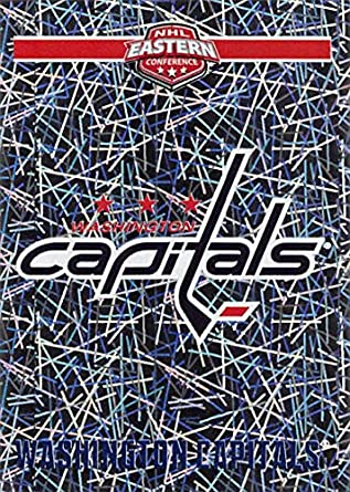 24bc9952b0394f Amazon.com: 2018-19 Panini NHL Stickers Collection #251 Washington Capitals  Logo Foil Washington Capitals Official Hockey Sticker (smaller than a  regular ...