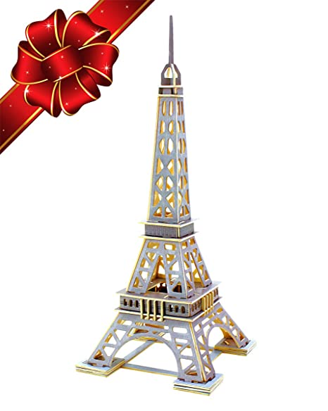 christmas sale eiffel tower 3d puzzle kit top gift for kids building diy - Amazon Christmas Sale