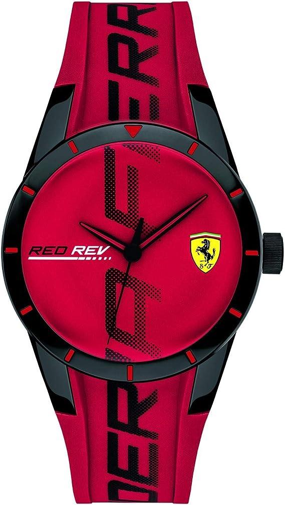 Fer0840028 Gents Watch Scuderia Ferrari Redrev Trendy Amazon De Uhren