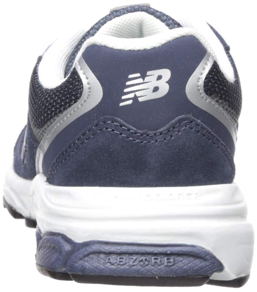 New Balance Boys' 888v2 Running Shoe, Navy/Grey, 2.5 M US Little Kid by New Balance (Image #2)