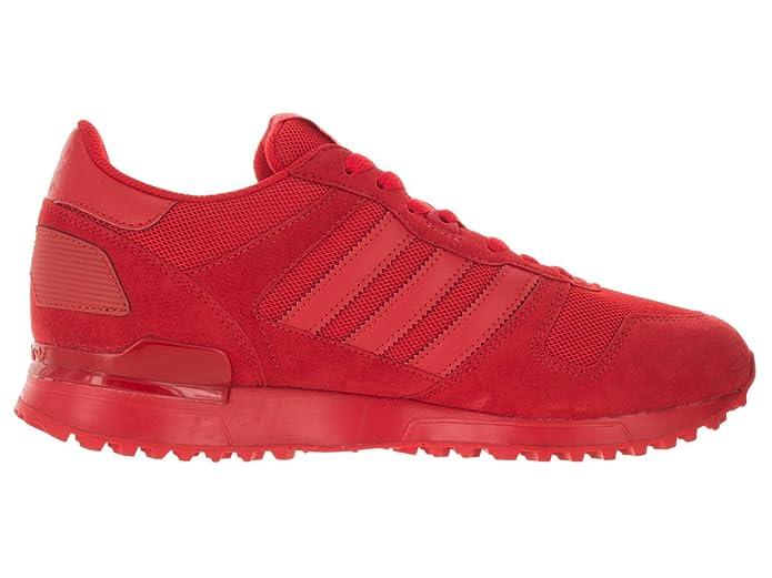 Adidas uomini zx 700 originali rosso / rosso / rosso con scarpa