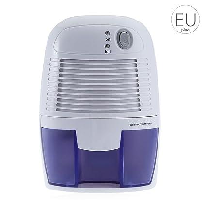 Demino Mini deshumidificador portátil de casa de Humedad 500ml absorción de secador de Aire con Apagado