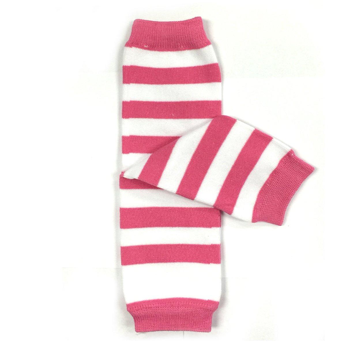 Bowbear Baby Stripes and Chevron Leg Warmers