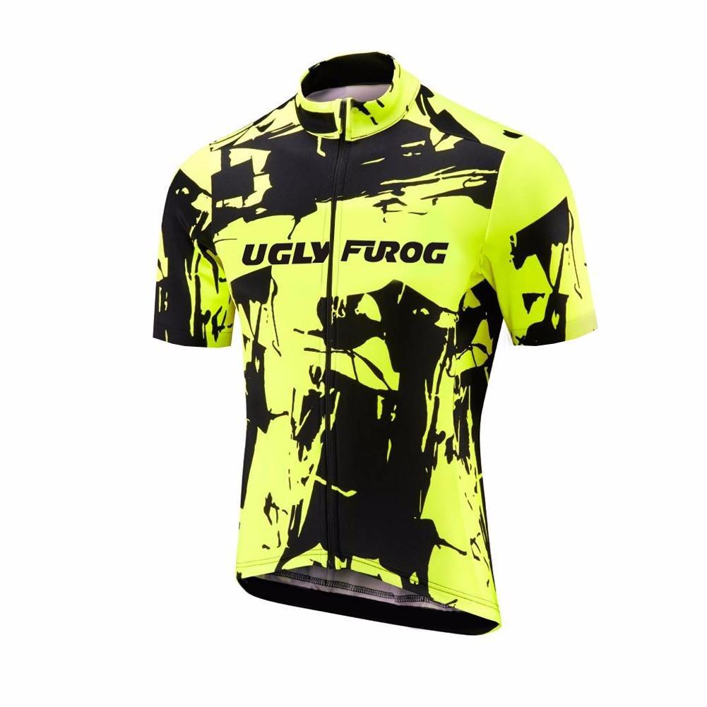 Amazon.com: Uglyfrog maillot de ciclismo para mujer de manga ...